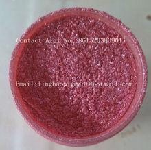 Color Mica Pearl Pigment-Super flash Red color LB4010