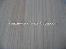 FSC paulownia log panel for decoration