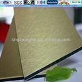 cepillado de oro nuevo e innovador de plástico materiales de construcción