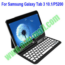 Ultrathin Aluminium Bluetooth Keyboard Case for Samsung Galaxy Tab 3 10.1/ P5200 With Stand