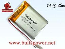 Canon camera MAX POWER li-ion battery 3.7V560mah053040(lipo battery) Customized Size