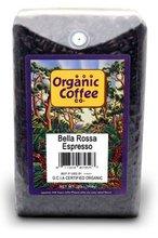 Bella Rossa Espresso - 100% Organic coffee