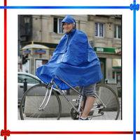 Waterproof PVC bicycle rain poncho
