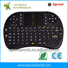 2.4g mini fly air gyro mouse wireless keyboard for Android TV BOX  TV stick