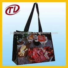 2013Reusable full color pp woven bag supplier/PP woven tote bag /PP woven shopping bags (TLPP003)