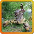 tamaño de la vida de escorpión de insectos para la venta