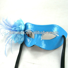 Blue Luxury Leather Different Type Of Masks