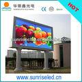 shenzhen venda quente publicidade p10 led futebol placa de substituição