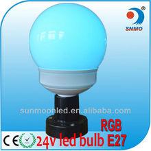 RGB led bulb rgb 2W party light led round color changing led light bulb