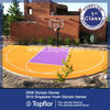 Colorful PP Sports Interlocking Flooring For Residential Basketball Court