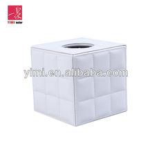 PU Leather square tissue box cover
