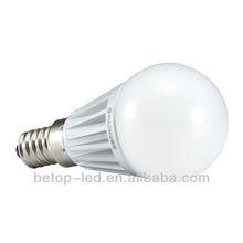 500 lumen led bulb light E14 mini led lights for fabric