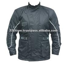 raccolta degli uomini armato impermeabile in cordura moto giacca moto tessile