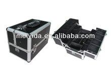 aluminum makeup train case D-1108