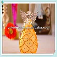 new design popular glass bless or pray angel