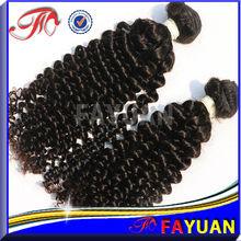 5A Kinky Curly Brazilian Virgin Hair kanekalon super jumbo braiding hair