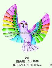 Owl shaped mylar balloon,animal shaped foil balloon/helium balloon/mylar balloon