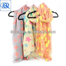 100% cotton reactive printing voile scarf sarong