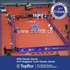 Anti-slip Table Tennis PVC Court Vinyl Sports floor covering