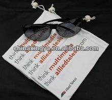 Wholesale Logo Printed Microfiber Sunglasses Bags