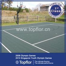 Plastic Interlocking PP Flooring Tile For Basketball/Tennis Court In Yard