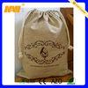 cotton linen drawstring bag(NV-J064)