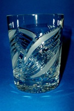 Whisky Crystal Glass Hand Cut Hand Made