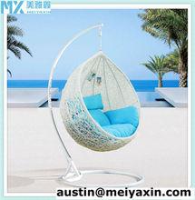Outdoor hammock,outdoor rattan hanging egg chair MH-6121