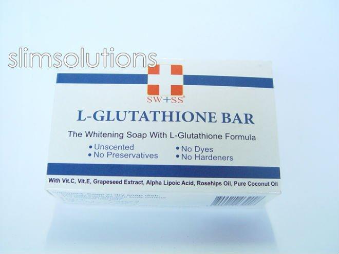 SWISS L- GLUTATHIONE SOAP WHITENING SAFE INGREDIENTS