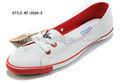 clássico de lona vulcanizada sapatos com sola de borracha