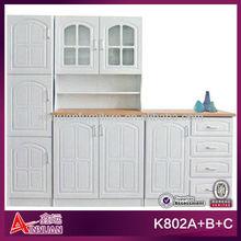 K802A+B+C Foshan wooden cheap cabinet kitchen manufacturer