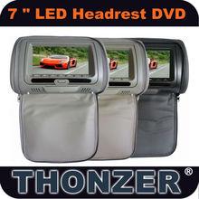 7 inch LED Car Headrest DVD player LED HD Screen 1440*234