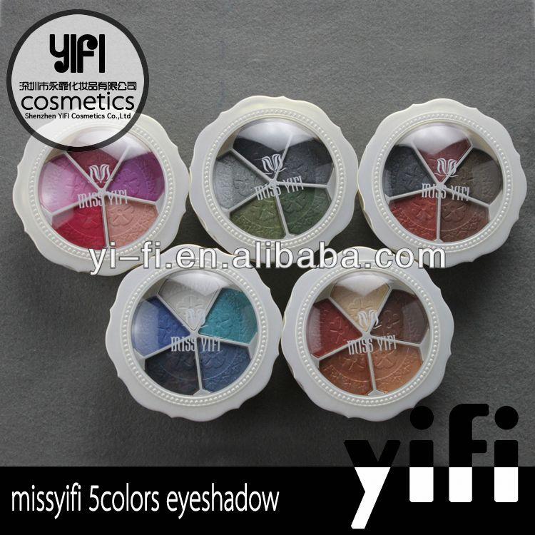 Distributor!5colors multifunctional makeup eyeshadow palette make up