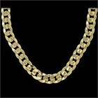 Cuban Gold plated Necklace Chain
