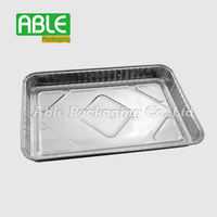 Shanghai Able Packing the disposable aluminum foil 1/4 size sheet cake pan