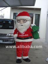 Mascot Santa Claus Costume Character