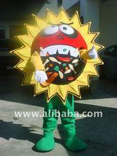 Sun flower Costume Character