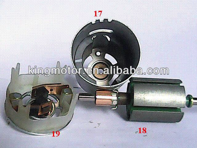 Dc Motor Parts Components View Part Kingo Product