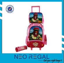 Trolley school bag for boy back to school trolley bag