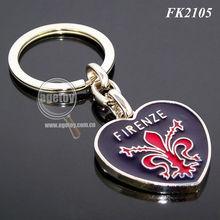 Key Ring Heart Lock
