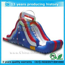 rainbow inflatable water slide