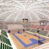 the wear-resisting pvc flooring used as bamboo basketball flooring
