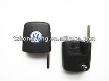 vw remote flip square key head