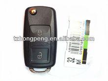 volkswagen b5 2 button flip key case