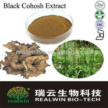 100% Natural Black Cohosh Extract/Black Cohosh Powder GMP Standard
