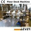 Innovative composite steel deck cold fabrication engine