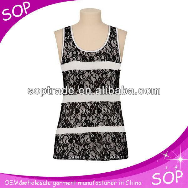 - Guangzhou_tank_top_manufacturer_korean_stylish_lace