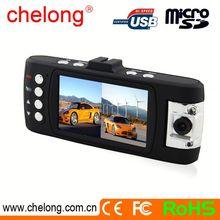 OV9712 sensor H.264 car night vision dual lens camera Motion detection car dvd player with reversing camera
