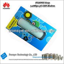100% Original Unlock 7.2Mbps HUAWEI 3G Mobile Broadband Dongle USB Modem E173