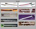 Medievel espadas/romana idade armas/espadas militar/ms0004